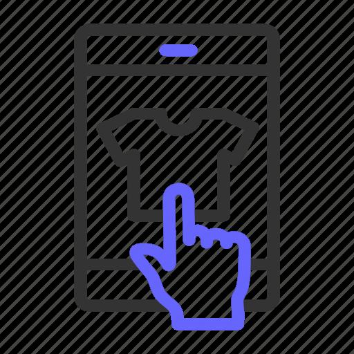 choose, ecommerce, item icon