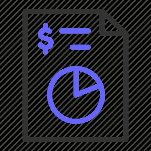 diagram, ecommerce, report icon