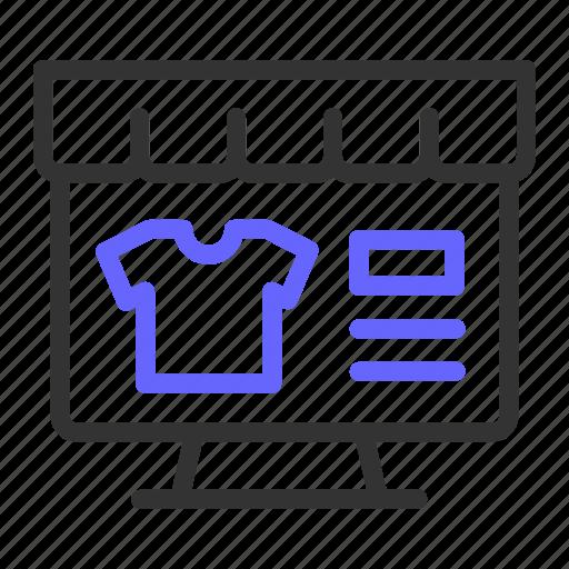 ecommerce, online, shop, website icon