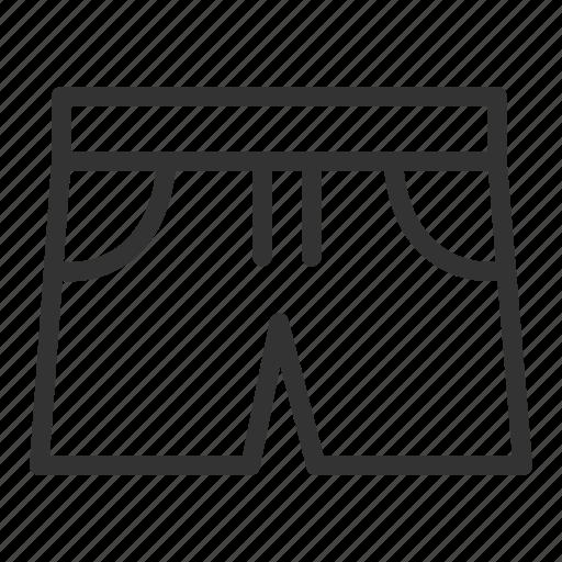 ecommerce, pant icon