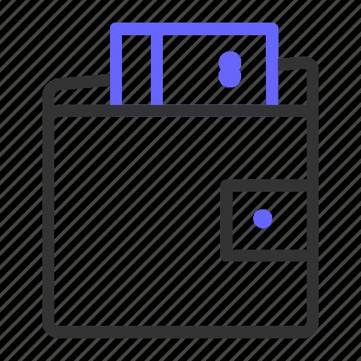 card, ecommerce, money, pocket icon