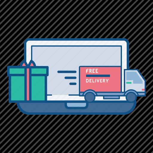 fulfillment, gift, logistics, marketplace, online, order, shipment icon