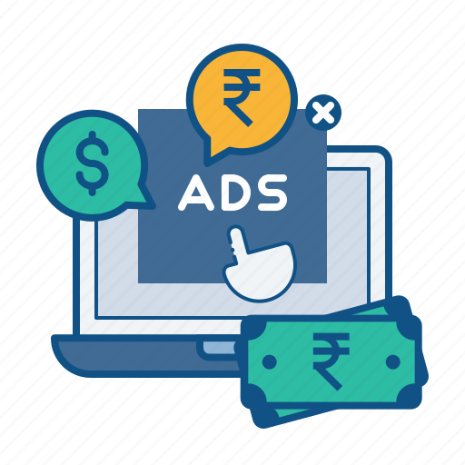 advertising, click, digital, pay, per, ppc, seo icon