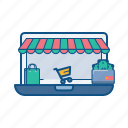 bag, cart, ecommerce, online, shop, store, wallet icon