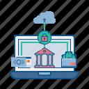 cloud, e-banking, internet, net, secure, web