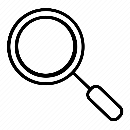 find, search, view, zoom icon