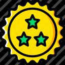 buy, ecommerce, star, yellow icon