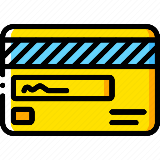 back, card, credit, ecommerce, payment, processing icon