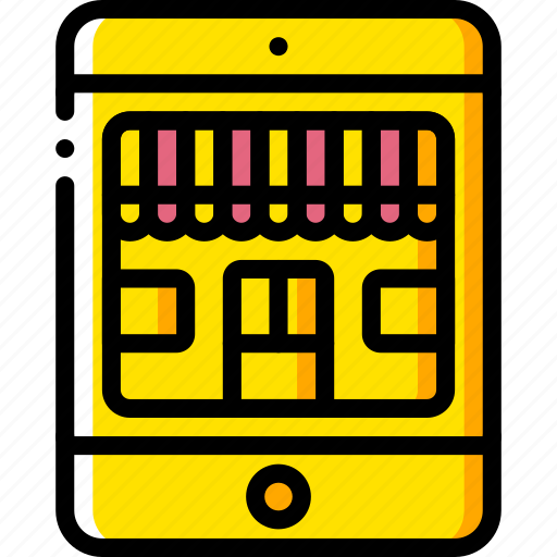 ecommerce, mobile, shop, store icon