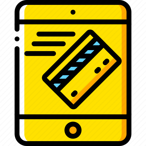 ecommerce, ipad, mobile, payment, processing icon