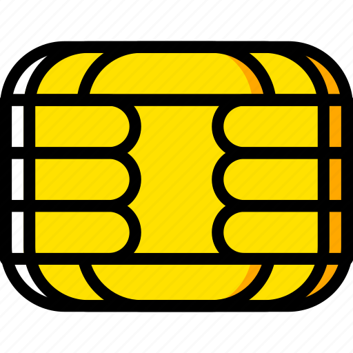 chip, credit, debit, ecommerce, payment, pin, visa icon