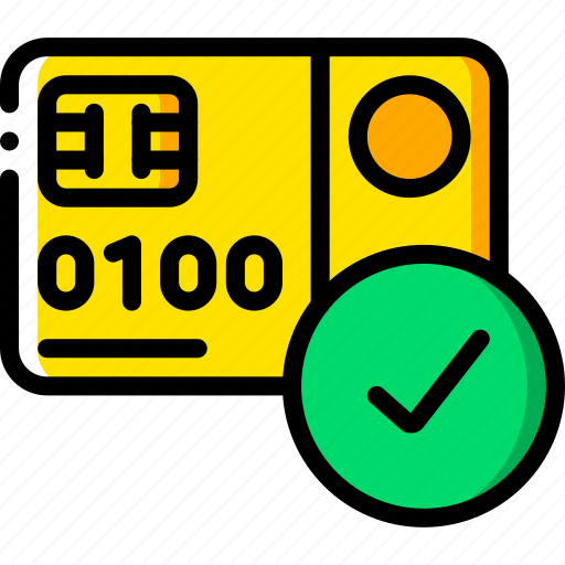 approved, card, ecommerce, ipad, mobile, payment, processing icon