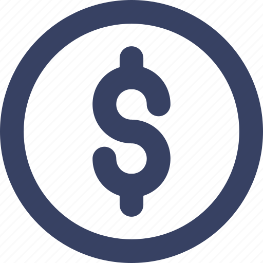 coin, dollar, ecommerce, shop, shopping, ui, web icon