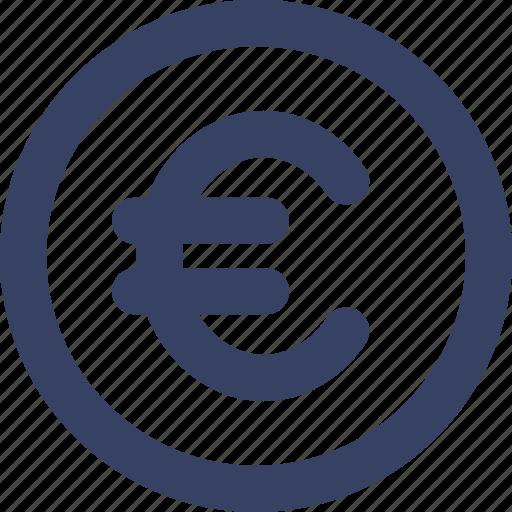 coin, ecommerce, euro, shop, shopping, ui, web icon