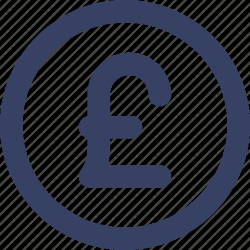coin, ecommerce, pound, shop, shopping, ui, web icon