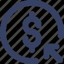 ecommerce, money, send, shop, shopping, ui, web icon