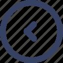 arrow, ecommerce, left, shop, shopping, ui, web icon