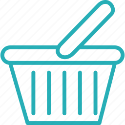 basket, cart, ecommerce, online, shop, shopping, store icon