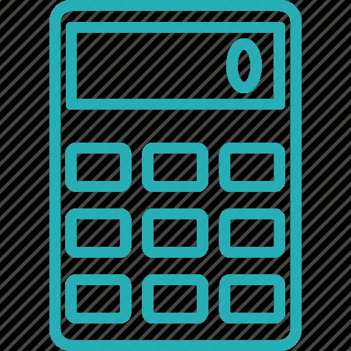 accounting, calc, calculate, calculating, calculation, calculator, digital icon