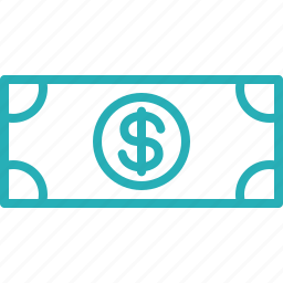 cash, currency, currency note, dollar, finance, financial, money icon
