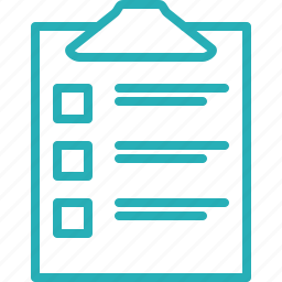 checklist, clipboard, itemlist, items, list, shopping list icon