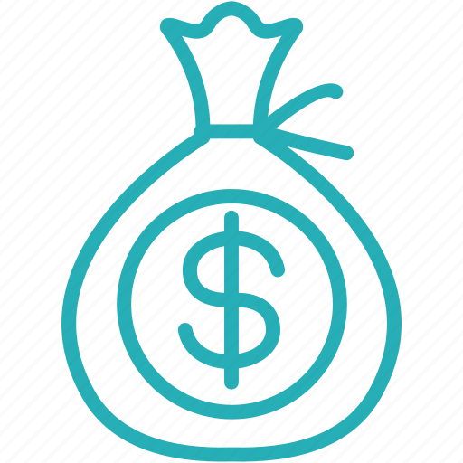 bag, budget, dollar, finance, financial, investment, money icon