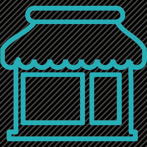 market, mart, open, retail, shop, shopping, store icon