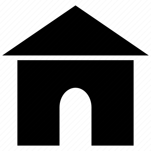 building, dog house, house, mini house, pet house, structure icon