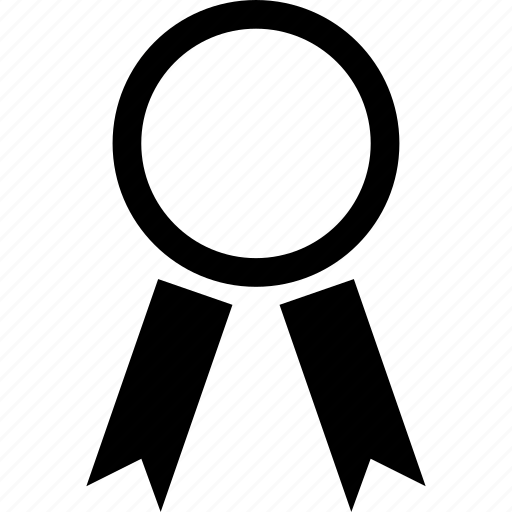 badge, insignia, mark, ribbon icon