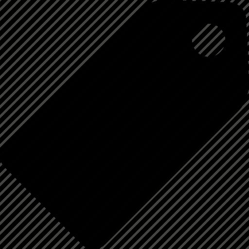 insignia, mark, tag icon