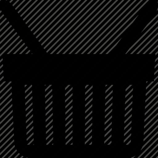 basket, storage, storage basket icon