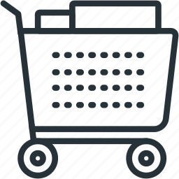 cart, commerce, delivery, e icon