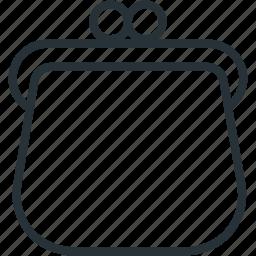 commerce, e, pouch icon