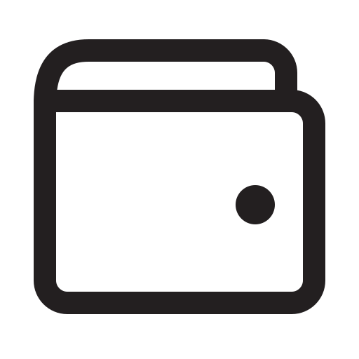 ecommerce, shop, wallet icon