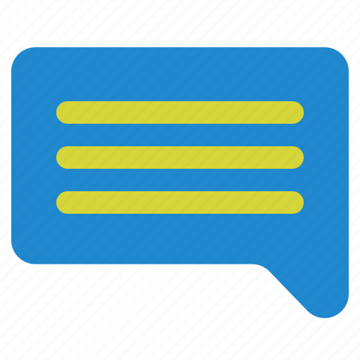 chat, ecommerce, mention, message, talk icon