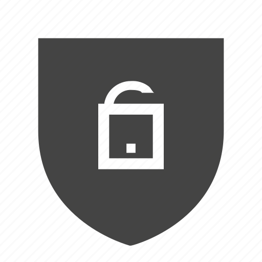 ecommers, security, shopping icon