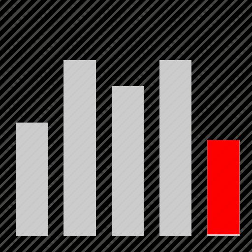bar, chart, economic, minimum icon