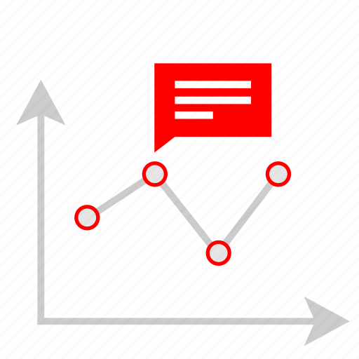 chart, economic, graph, report icon