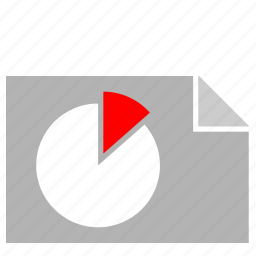 chart, document, file, report, share icon