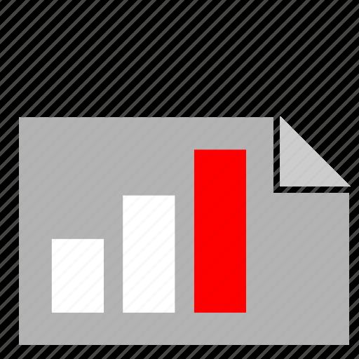 bar, chart, document, economic, maximum icon
