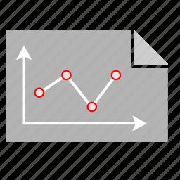 chart, economic, report, statistics icon