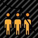 depopulation, downsizing, employee firing, employee reducing, worker elimination, worker firing, worker termination