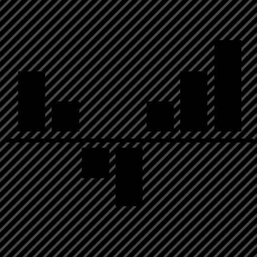 bar, chart, economics, metrics, statistics icon