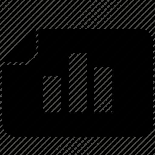 bar, chart, data, economics, list, report icon