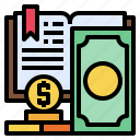 book, business, coin, economy, finance, money