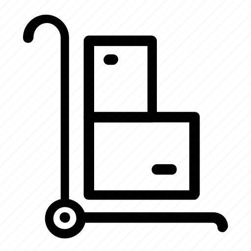 box, delivery, package icon