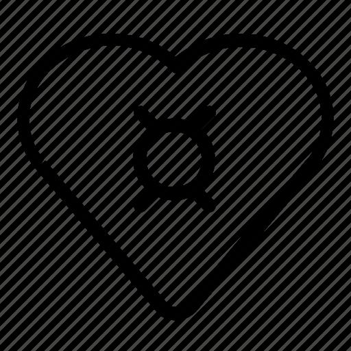 favorite, target icon