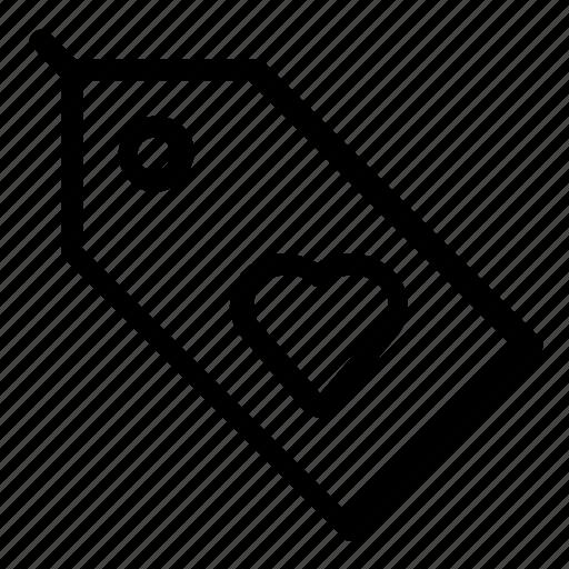 favorite, tag icon
