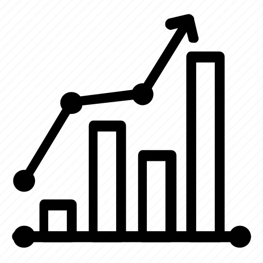 analytics, chart icon