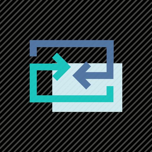 converge, data, exchange, internet, mobile, transfer, ui icon